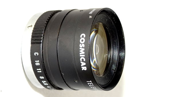 8.5mm   1/1,5 Cosmicar Lens for Videocamera Simatic VS710